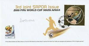 BOTSWANA 9 APRIL 2010 WORLD CUP COMMEMORATIVE STAMP FIRST DAY COVER