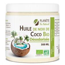 Huile de Coco Désodorisée Bio - 500ml