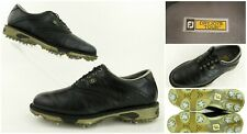 FootJoy DryJoys Tour Golf Shoes Black Leather US 9.5M Brand New Cleats!