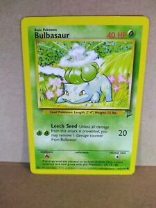 Pokemon Common Card : Bulbasaur  67/130 (Base Set 2)