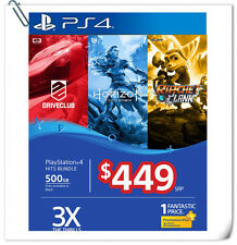 2 IN 1 PS4 Hits Bundle Driveclub + Ratchet no Horizon SONY Playstation Games