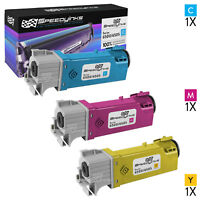 Compatible Xerox Set of 3 Toner Cartridges for Phaser 6500, WorkCentre 6505