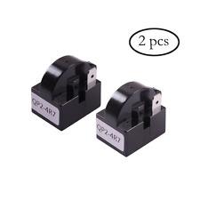 Refrigerator PTC Starter Relay, QP2-4R7 Fits Most Mini Fridges, Kitchen, -2 Pc