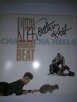 "Eartha Kitt & Bronski Beat - Cha Cha Heels, 7""Vinyl,Sleeve signed by Eartha Kitt"