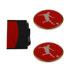 Referee Warning Cards (yellow Red) Wallet with Pencil & 2 Count Flip Coins