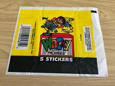 Wacky Packages - 1x Wax Pack Card Wrappers - 1990 Topps