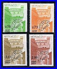 MONACO 1978 CLOCK TOWER Mi#1301-04 CV$5.00 MNH CASTLES (K-DEC)