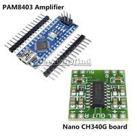 USB Nano V3.0 ATmega328P CH340G 5V 16M Micro-controller Board Arduino