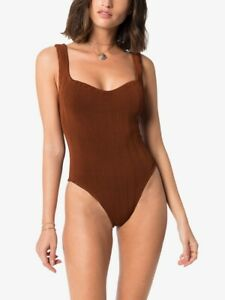 Hunza G Ribbed Athena Swimsuit