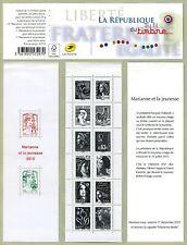 Carnet C1520A - Carnet « La Vème République au fil du timbre de 1959 à 2013 »