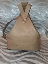 LOEWE BAG Backpack Shoulder Bag LEATHER BEIGE