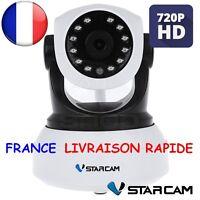 Vstarcam hd sans fil caméra sécurité surveillance ip wifi motorisee enregristre