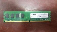 Crucial 4GB 2x2GB DDR2 PC2-5300 667MHz Desktop RAM Memory Module CT25664AA667
