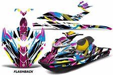 AMR Racing Sea Doo RXP Sitdown Jet Ski SeaDoo Graphic Full Wrap Kit 04-11 FLSHBK