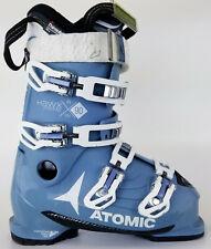 High End $400 Womens Atomic Hawk Prime RW 90 Ski Boots Ladies Sky Light Blue