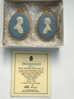 Wedgwood Blue jasperware Medallions limited edition in excellent condition .