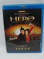 Quentin Tarantino presents Hero Blu-ray - 2010 - Jet Li - Oop Rare - Pristine