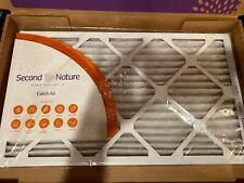 Second Nature 12x20x1 Catch All (Super Allergen) Air Filter. Brand New in Box