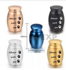 New Pet Mini Urn Miniature Funeral Cremation Urn Pet Ashes Holder Big 5 colors
