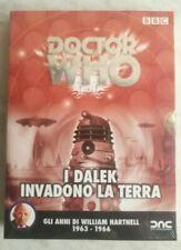 Doctor Who Dvd I Dalek Invadono La Terra Molto Raro 1963 1966 FUORI CATALOGO