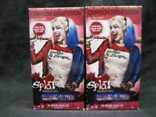 Splat Suicide Squad Rebellious Colors Crimson Obsession Semi-Permanent Lot of 2