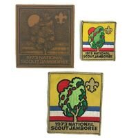 Vintage 1973 Boy Scouts of America BSA National Scout Jamboree Patches Leather 3