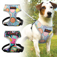 Reflective Dog Vest Harness Mesh Padded for Small Medium Dogs Beagle Schnauzer