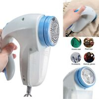 `Electric Clothes Lint Pill Fluff Remover Fabrics Sweater Fuzz Shaver Household