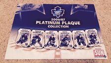 Toronto Maple Leafs 2006-07 Platinum Plaque Card Set of 24 in Original Packages