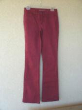 Yummie Deep Red  Denim Jeans   5 Pocket   25