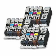 15 PACK PGI-220 CLI-221 Ink Tank for Canon Printer Pixma iP3600 iP4600 NEW