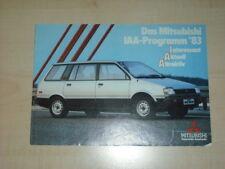31950) Mitsubishi Space Wagon Lancer Colt Prospekt 1983