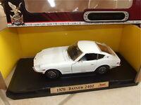DATSUN 240 Z Blanc 1970 ROAD SIGNATURE 1/18 PROMO