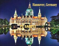 Germany - Hannover Town Hall - Travel Souvenir Fridge Magnet
