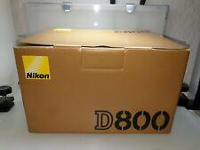 Nikon D800 Body 36.3 MP DSLR Schwarz, Auslösungen/shutter count 4070