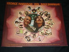 George Harrison/Ravi Shankar TOUR PROGRAM 1974 insert