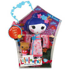 "LALALOOPSY Large Doll YUKI KIMONO Japanese Style Toy with Accessories 13"" + cat"