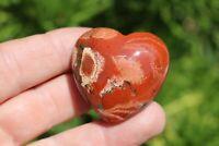 Brecciated Jasper Mineral Puffy Heart US Seller! Free Ship! Lot# GB-17
