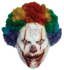 Halloween SCARY CLOWN Adult Latex Deluxe Mask Ghoulish Productions