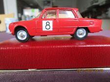 Alfa Romeo Giulia TI DinkyToys/Meccano/Triang Tour de France Automobile Rouge -8