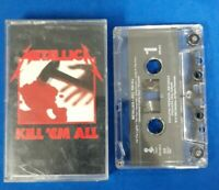 1983 Metallica Kill Em All Cassette Tape Please See Photos For Condition