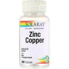 Zinc Copper, 100 VegCaps