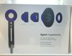 220V Non US version Dyson HD03 Supersonic Hair Dryer Black/Purple