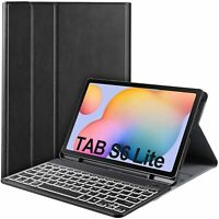 Backlit Smart Keyboard Case Cover for Samsung Galaxy Tab S6 lite 10.4 inch 2020