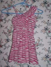 1989 Place Pink & White Sleeveless Dress - Size 5-6