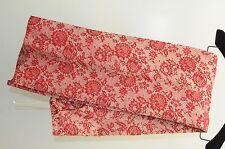 NEW Carolina Herrera Pants JACQUARD Lace over Nude Red Cream High Waist 4