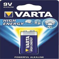 Varta 9 V High Energy Piles Alcalines 4922121411 [VR55986]