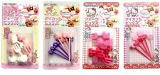 SANRIO MY MELODY & HELLO KITY BENTO Food Forks & Picks Set F/S AIRMAIL JAPAN