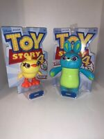 Disney Pixar Toy Story 4 Bunny & Ducky Poseable Figures Lot of 2