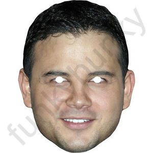 Ryan Thomas Celebrity Card Mask - All Masks Are Ready To Wear